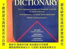二手書博民逛書店THE罕見CHAMBERS DICTIONARY 錢伯斯英語詞典Y11991 chambers 現代出版社