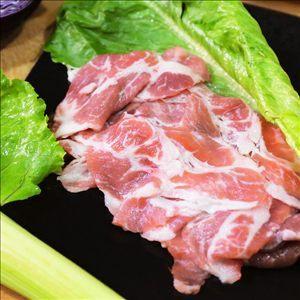 活菌豬梅花炒肉片160g