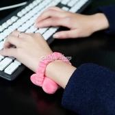 滑鼠墊鬆緊帶手托腕托迷你滑鼠護腕墊發帶創意可愛手枕護腕托手腕墊鼠墊 color shop