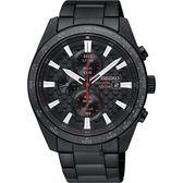 SEIKO Criteria 極速限定計時男錶-黑