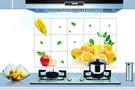 廚房壁貼 防油 防水【柳橙 】貼紙 防油貼【A5111】