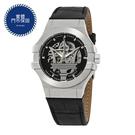 MASERATI WATCH 瑪莎拉蒂手錶 R8821108001 經典大三叉銀色機械款 錶現精品 原廠正貨