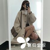 毛呢外套韓版2018ins初戀秋冬季長款加棉厚單排扣大衣毛呢子外套女學生潮