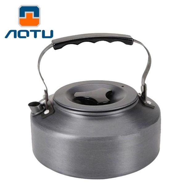 【狐狸跑跑】AOTU 凹凸1.1L硬質超厚實燒水茶壺 攜帶式茶壺 咖啡壺 煮水壺 6302