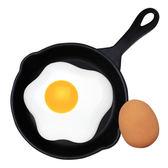 Hamee 日本 Eggciting Breakfast 雞蛋早餐 平底鍋 飛盤 拋接對打 趣味玩蛋遊戲組 93-425701