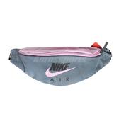 Nike 腰包 NSW Heritage Hip Pack 灰 粉紅 男女款 斜背包 串標 運動休閒 【ACS】 CW9263-031