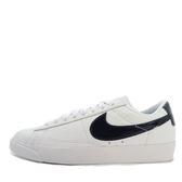 Nike W Blazer Low LE [AA3961-107] 女鞋 運動 休閒 白 深藍