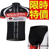 自行車衣套裝-透氣典型新款嚴選男短袖單車衣55u51【時尚巴黎】