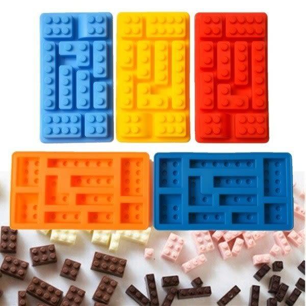 【發現。好貨】食用級矽膠多款式樂高積木型冰格製冰盒冰格果凍模LEGO模型