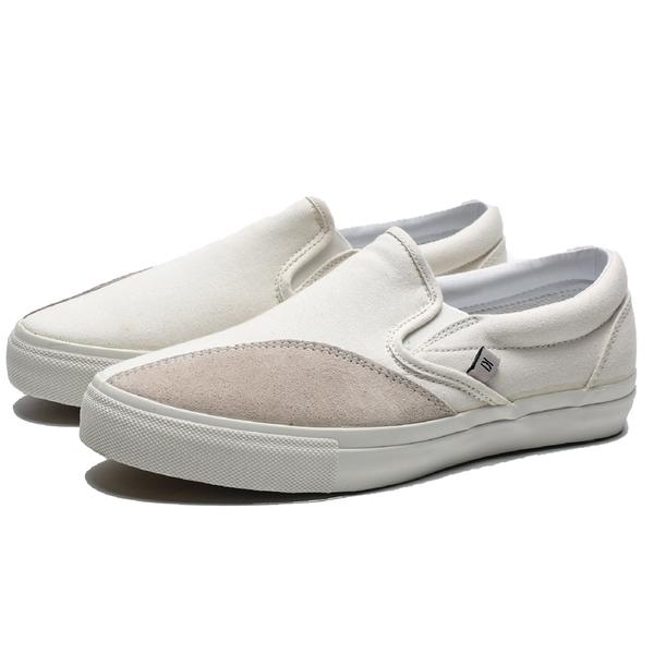 CLEARWEATHER DODDS 米白 帆布 麂皮 休閒 懶人鞋 滑板鞋 男 (布魯克林) CM028002