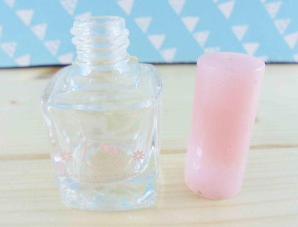【震撼精品百貨】Hello Kitty 凱蒂貓~KITT造型玻璃瓶-方形造型-粉花