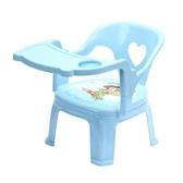 兒童餐椅 嬰兒童寶寶吃飯桌餐椅子卡通叫叫靠背座椅塑料凳子安全吃飯小板凳【全館免運】