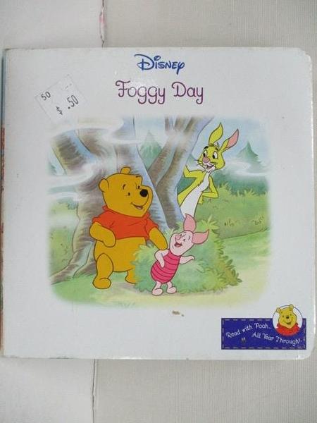 【書寶二手書T1/少年童書_BP5】Disney-Foggy Day