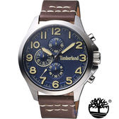 Timberland  美式 三眼 錶 (TBL.15026JS/03) 藍/46mm