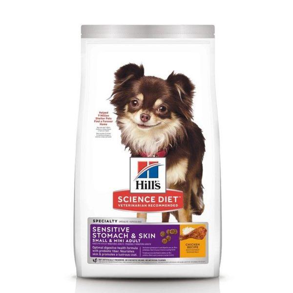 『寵喵樂旗艦店』希爾思Hill's《小型犬及迷你成犬 敏感胃腸與皮膚-雞肉特調食譜》4磅【10439】