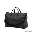 HAPITAS 黑條紋 旅行袋 行李袋 摺疊收納旅行袋 插拉桿旅行袋 HAPI+TAS H0002-128 (小)