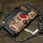 真皮手機包-簡約造型簡潔男手拿包6y35【巴黎精品】