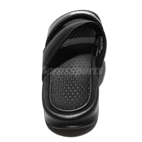 Nike 拖鞋 Wmns Benassi Duo Ultra Slide 黑 白 雙帶 女鞋 涼鞋 GD【PUMP306】 819717-010