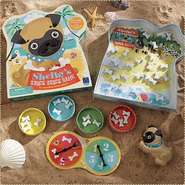 美國Educational Insights 兒童益智桌遊 - 小狗雪碧的零食大戰