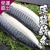 海鮮王 挪威薄鹽鯖魚*10片組(140-160g/片 )【免運直出】