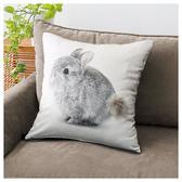 45×45抱枕套 兔子 COVER KIKI NITORI宜得利家居