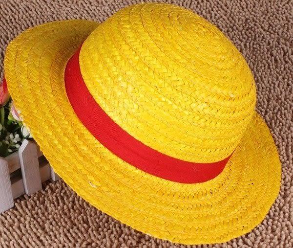 【發現。好貨】海賊王 魯夫草帽 魯夫帽 喬巴帽 角色扮演 COSPLAY 遮陽帽 海灘帽(大)