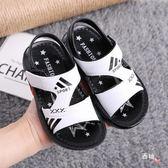 男童涼鞋夏季小童學步鞋中大童兒童涼鞋女童寶寶防滑鞋沙灘小白鞋 聖誕交換禮物