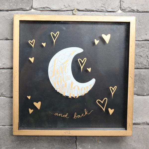 Moon木質掛框-生活工場