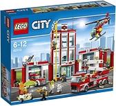 LEGO 樂高 City 城市系列 消防局 60110