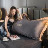 床靠枕 ins北歐風床頭靠墊皇冠大靠背床頭板軟包雙人臥室床上靠枕可拆洗ATF 英賽爾