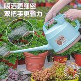 一件85折免運--塑料灑水壺澆花 陽台庭院澆水種菜樹脂雙提手花灑