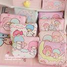 Star 日韓系列 - 可愛卡通粉嫩雙子星PU零錢包袋 硬幣零錢可愛收納小包包(隨機出貨)