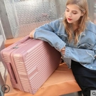 行李箱女24寸ins網紅密碼旅行箱子大學生皮箱行李箱男萬向輪抖音LX
