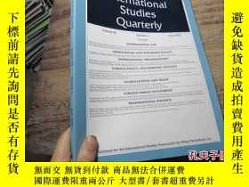 二手書博民逛書店international罕見studies quarterly