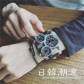 手錶 炫酷個性創意概念高科技歐美街頭嘻哈說唱男表蒸汽朋克手表