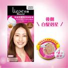 Liese 莉婕 Blaune 頂級奶霜泡沫染髮劑 2古銅棕色【花王旗艦館】