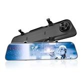 【南紡購物中心】CORAL LM5 12吋全屏2K觸控電子雙錄後視鏡 聲控+觸控行車記錄器 10米後鏡頭訊號