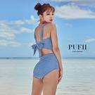 限量現貨◆PUFII-泳裝 美胸馬甲式綁...