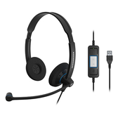 Sennheiser 聲海 SC 60 USB CTRL 雙耳耳麥