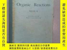 二手書博民逛書店Organic罕見ReactionS VOLUME 18Y132