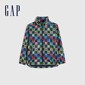 Gap男童 Gap x Marvel 漫威系列防雨外套 682053-深藍色