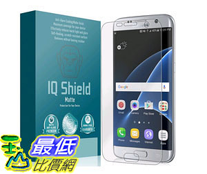 [美國直購] 保護膜 Galaxy S7 Edge Screen Protector Anti Glare Premium Bubble-Free HD Film Anti-Fingerprint B01BG2ELRI