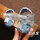 學步鞋 嬰幼兒鞋子 女寶寶6-12個月軟底小公主春秋0-1歲新生兒步前鞋童鞋 3色