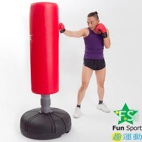《FunSport》 拳擊座打擊練習器(18公斤)含護套+手套