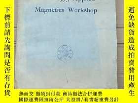 二手書博民逛書店IEEE罕見1975 applied magnetics workshop(P2680)Y173412
