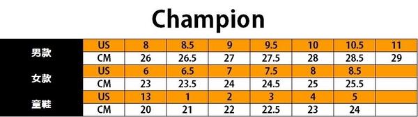 Champion HONEST 男款黑色運動慢跑鞋-NO.MFUS-9019-02