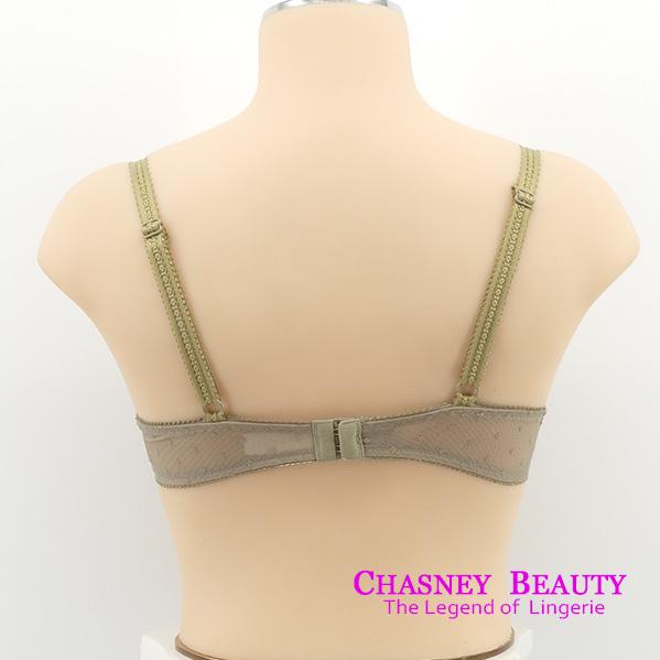 Chasney Beauty-舞彩蝶C-D蕾絲內衣(草綠)