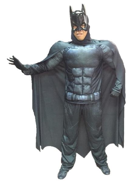 蝙蝠俠 肌肉裝(2件式大人),萬聖節/化妝舞會/派對道具/漫威,節慶王【W370075】