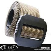 Bison JAG 戰術38mm 狼棕色腰帶#521BKCY  M~XL【AH24046】JC雜貨