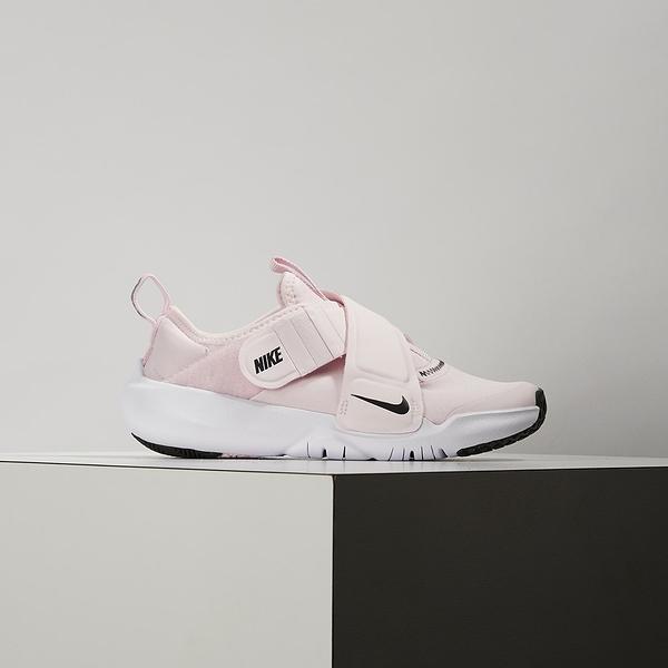 Nike Flex Advance (PS) 中童 粉 輕量 透氣 魔鬼氈 休閒鞋 CZ0186-600